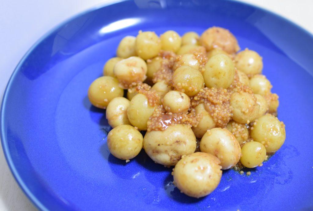 小芋の雑穀甘辛煮