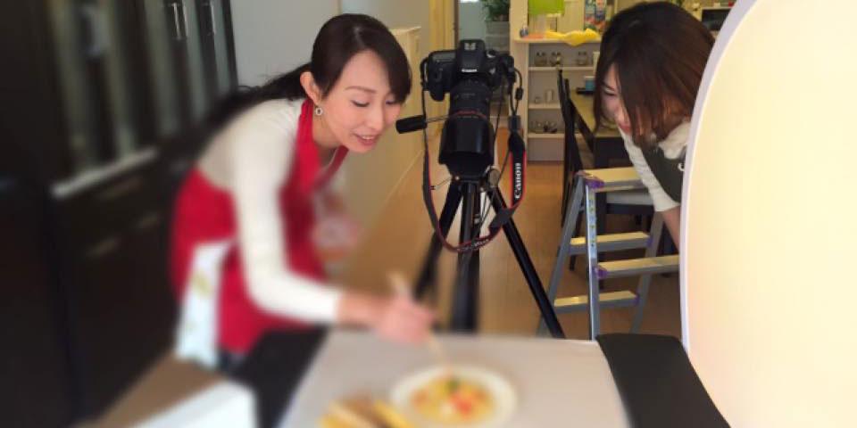 金子あきこ先生料理風景