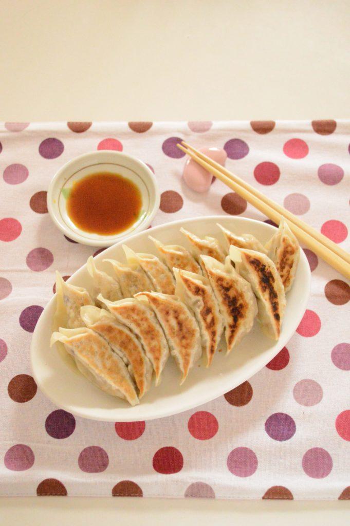 体活性ブレンドを使ったレシピ  雑穀入り納豆餃子