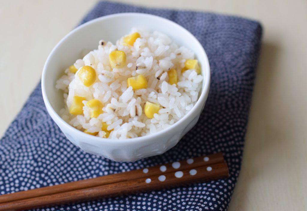 雑穀とうもろこしご飯