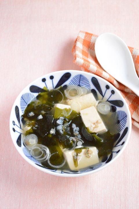 そばの実入り生姜スープ