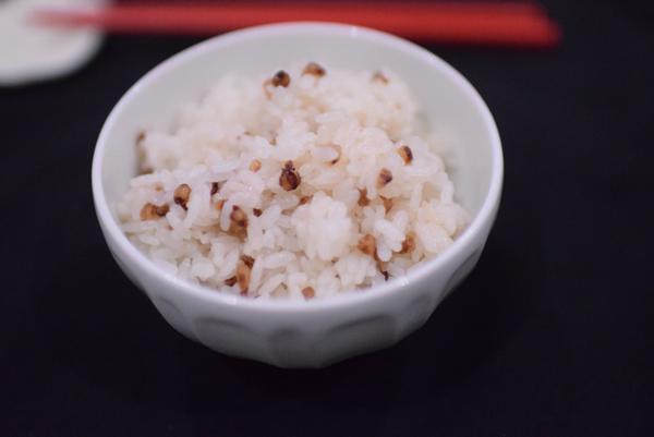 寿穀せんべいご飯